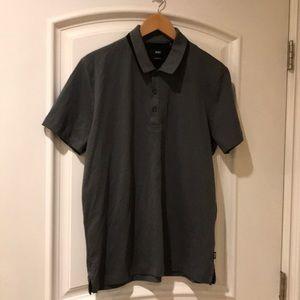 BOSS HUGO BOSS regular fit polo shirt size L